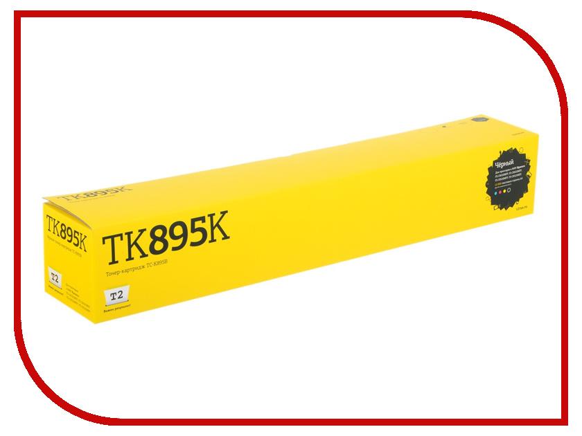 Картридж T2 TC-K895B для Kyocera FS-C8020MFP/C8025MFP/C8520MFP/C8525MFP Black картридж для мфу t2 tc h78a black