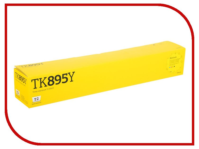 Картридж T2 TC-K895Y для Kyocera FS-C8020MFP/C8025MFP/C8520MFP/C8525MFP Yellow t2 712 tc c712