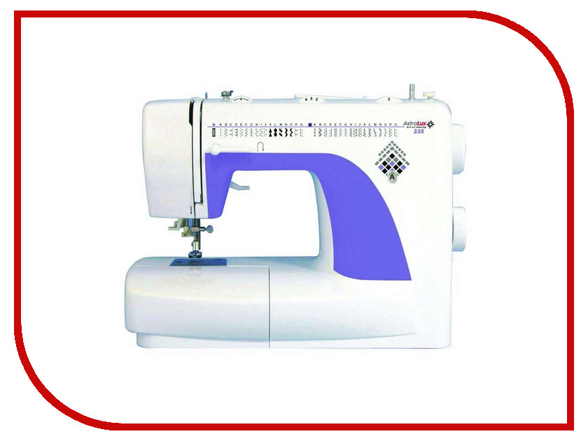Швейная машинка Astralux 235 швейная машинка astralux 156