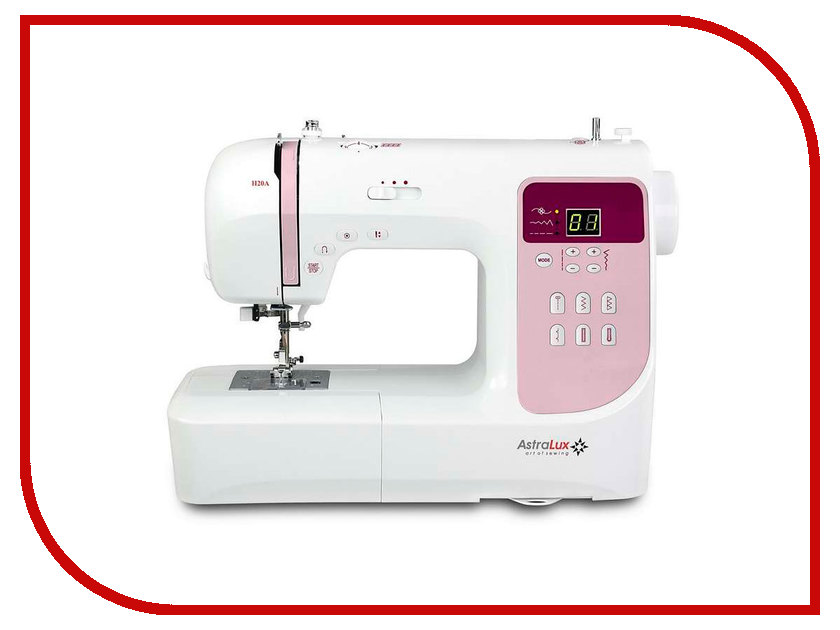 Швейная машинка Astralux H20 швейная машинка astralux 7300 pro series