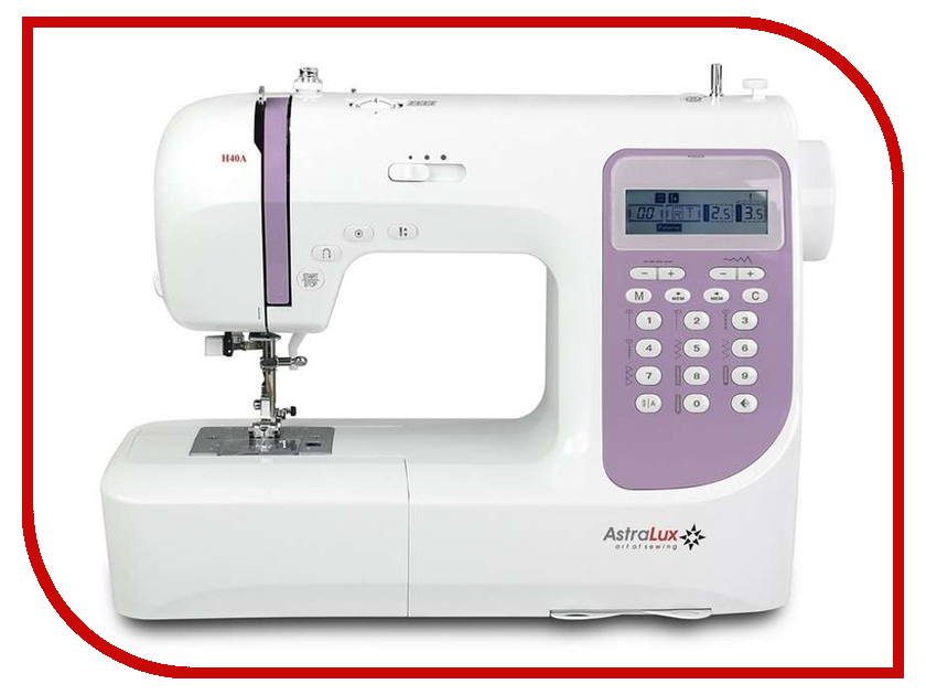 Швейная машинка Astralux H40 цена и фото