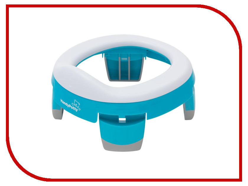 Горшок Roxy-Kids HandyPotty Blue HP-245A