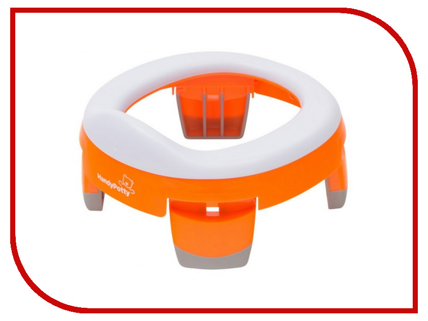 Горшок Roxy-Kids HandyPotty Orange HP-245R цена и фото