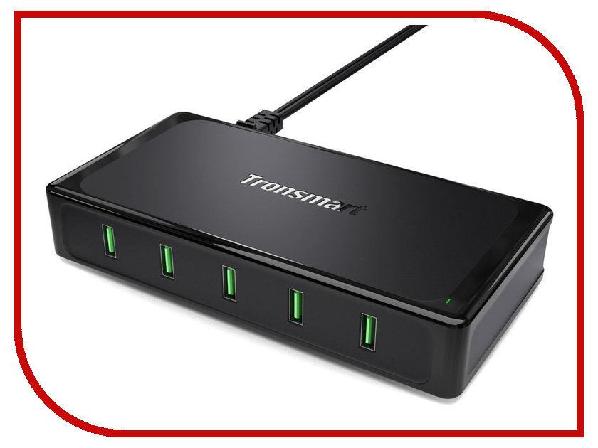Зарядное устройство Tronsmart Titan Quick Charge Black UC5F