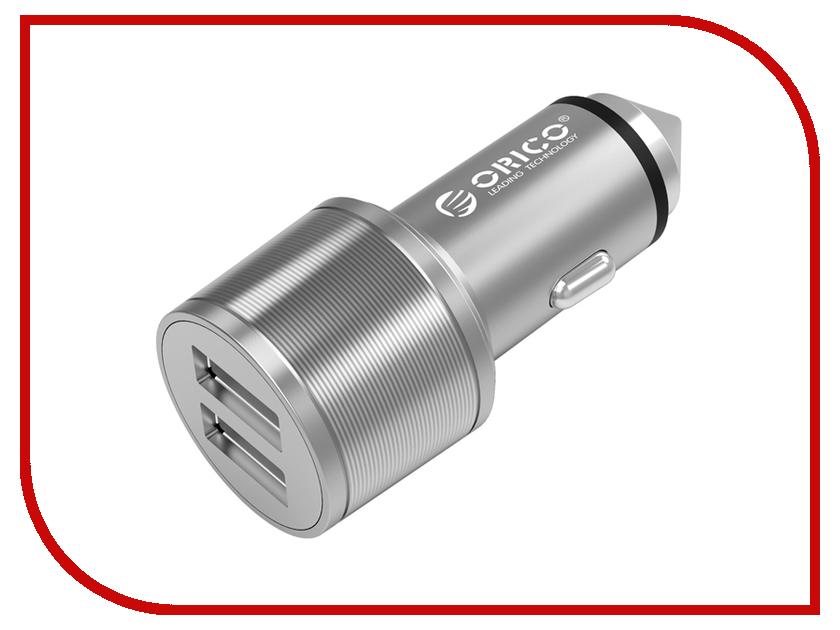 Зарядное устройство Orico UCI-2U USB 2-ports Silver<br>
