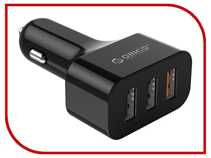 Зарядное устройство Orico UCH-Q3 USB 3-ports Black