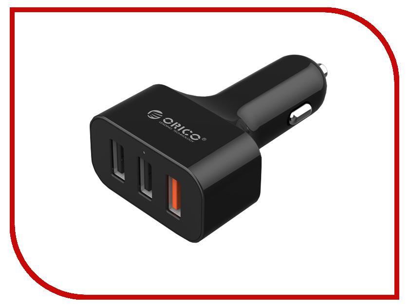 Зарядное устройство Orico UCH-2U1Q USB 3-ports Black<br>