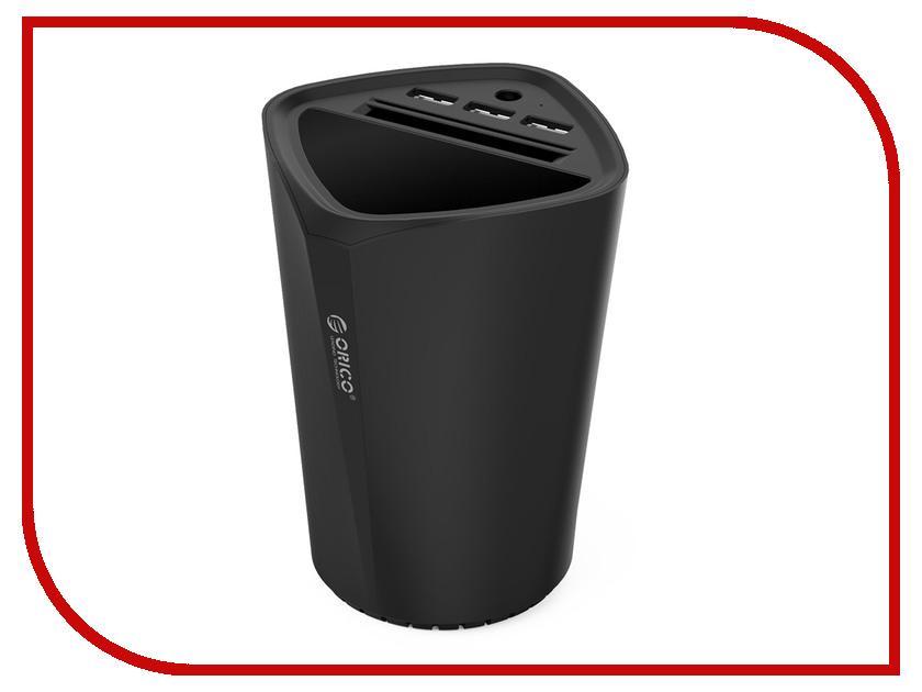 Зарядное устройство Orico UCH-C3 USB 3-ports Black люльки gesslein c3