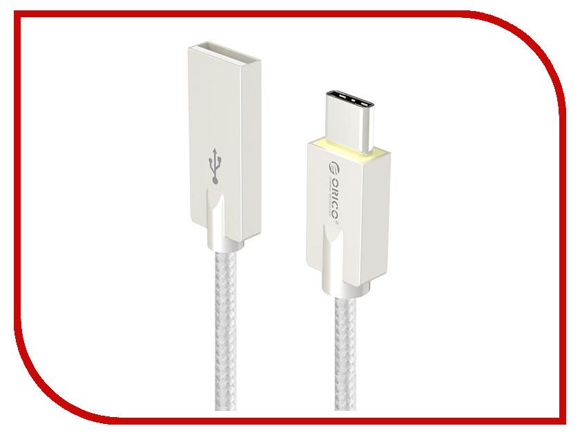 Аксессуар Orico HCU-10 USB Type A - USB Type C Grey<br>
