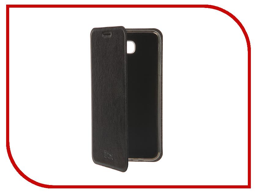 Аксессуар Чехол Samsung Galaxy On5 SM-G550F SkinBox Lux Black T-S-SG550F-003
