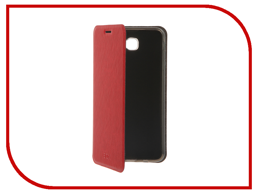 Аксессуар Чехол Samsung Galaxy On7 SM-G600F SkinBox Lux Red T-S-SG600F-003<br>