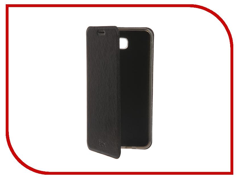 Аксессуар Чехол Samsung Galaxy On7 SM-G600F SkinBox Lux Black T-S-SG600F-003 аксессуар чехол накладка samsung galaxy sm a700 a7 activ silicone black mat 46687