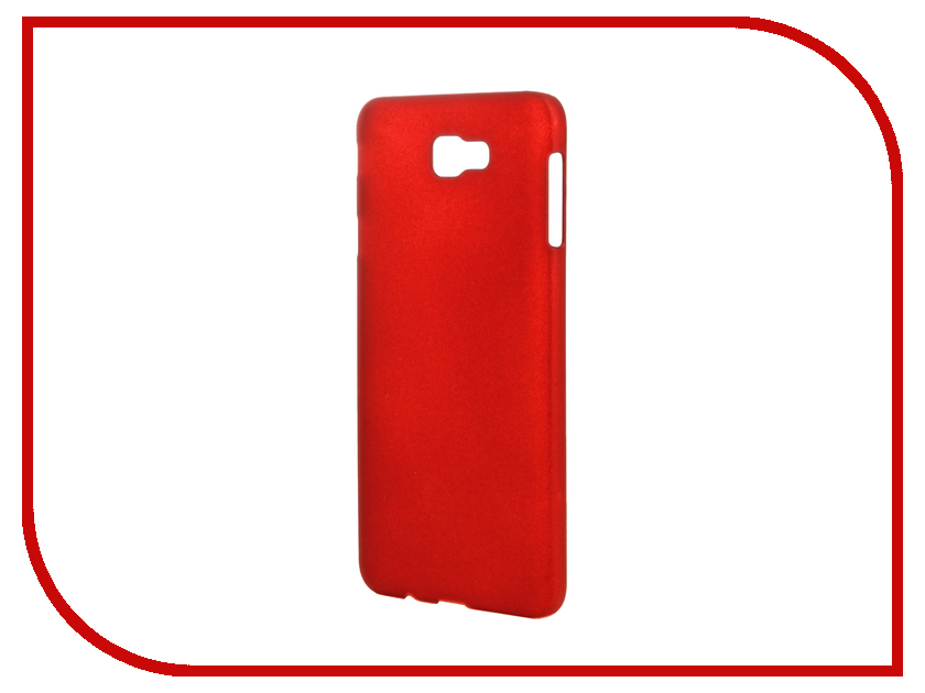 Аксессуар Чехол Samsung Galaxy On7 SM-G600F SkinBox Shield 4People Red T-S-SG600F-002 skinbox samsung galaxy young 2 sm g130h shield 4people