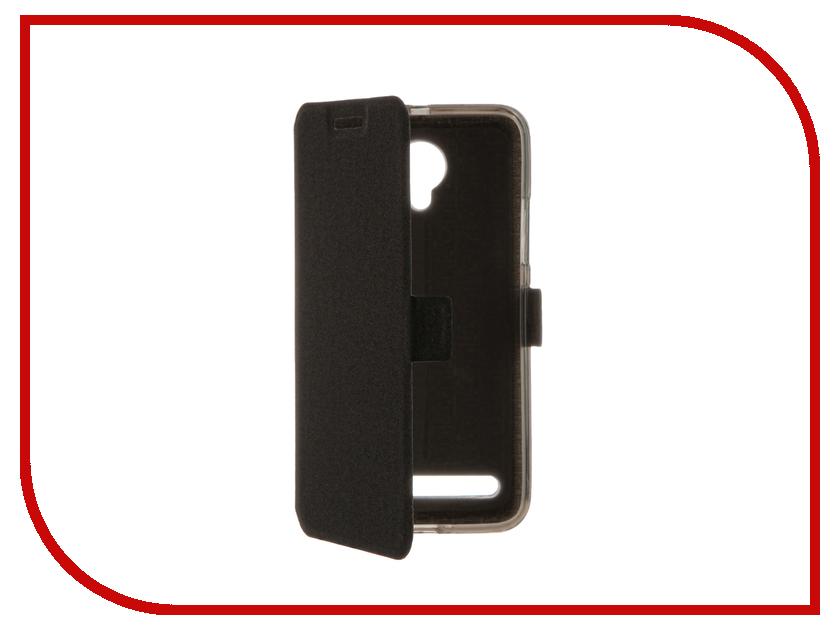 Аксессуар Чехол Lenovo Vibe C2 Power SkinBox Prime Book Black T-P-LVC2P-05<br>