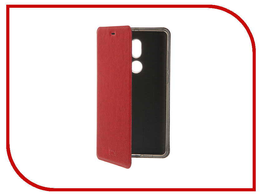 Аксессуар Чехол Xiaomi Mi5S Plus SkinBox Lux Red T-S-XMi5SP-003