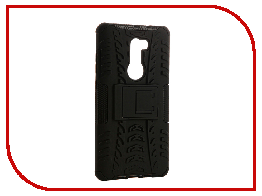 Аксессуар Чехол Xiaomi Mi5S Plus SkinBox Defender case Black T-S-XMi5SP-06