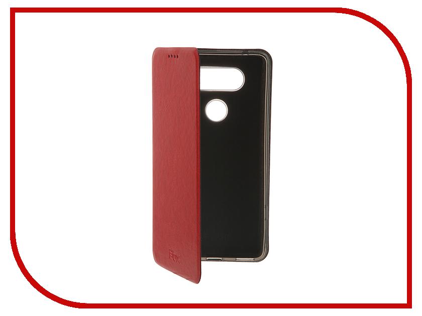 Аксессуар Чехол LG V20 SkinBox Lux Red T-S-LV20-003