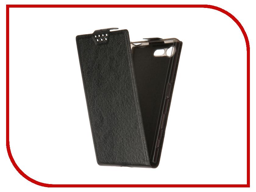 Аксессуар Чехол Sony Xperia X Compact SkinBox Slim Black T-F-SXXC<br>