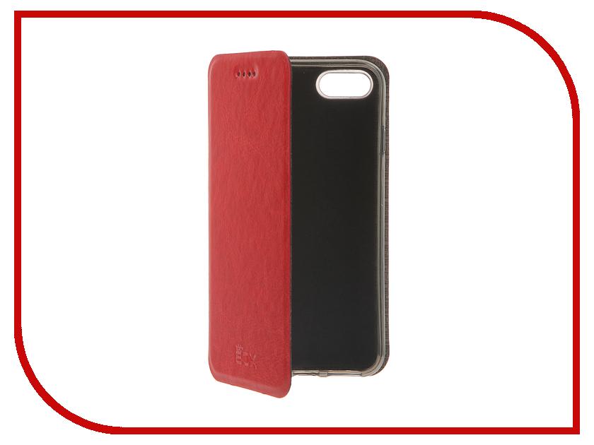 Аксессуар Чехол SkinBox Lux для iPhone 7 Red T-S-AI7-003 чехлы для телефонов skinbox чехол skinbox lux apple iphone 7 plus