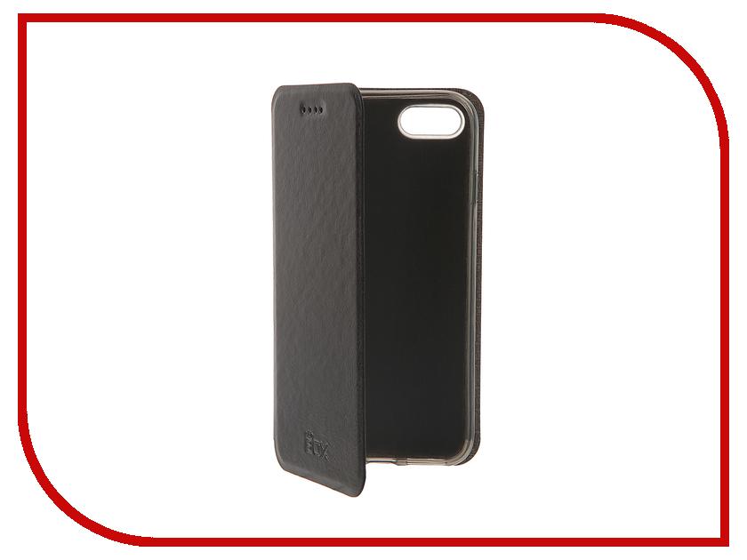 Аксессуар Чехол SkinBox Lux для iPhone 7 Black T-S-AI7-003