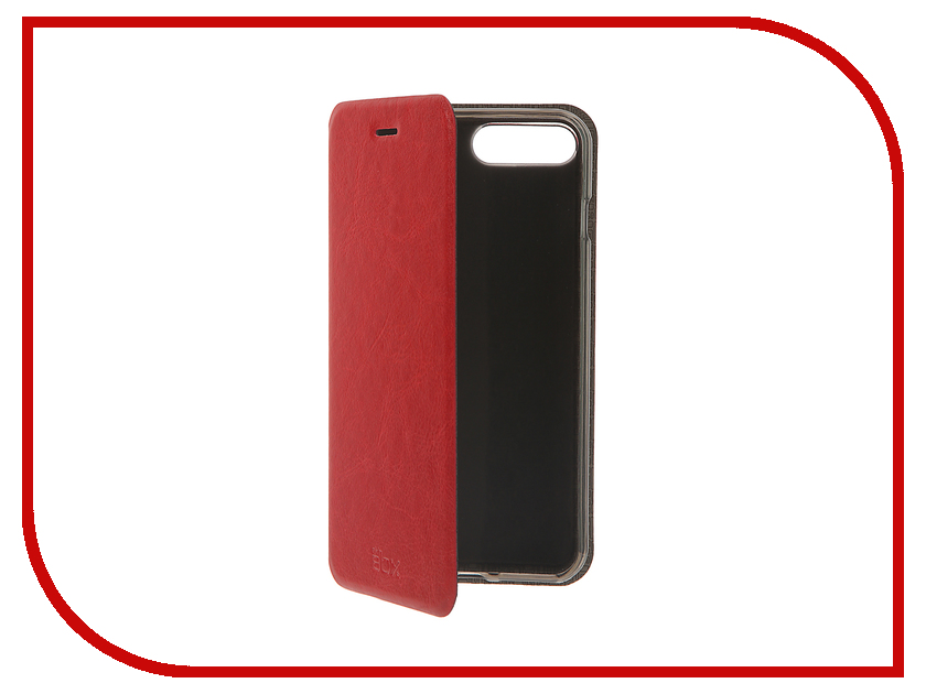 Аксессуар Чехол SkinBox Lux для iPhone 7 Plus Red T-S-AI7P-003