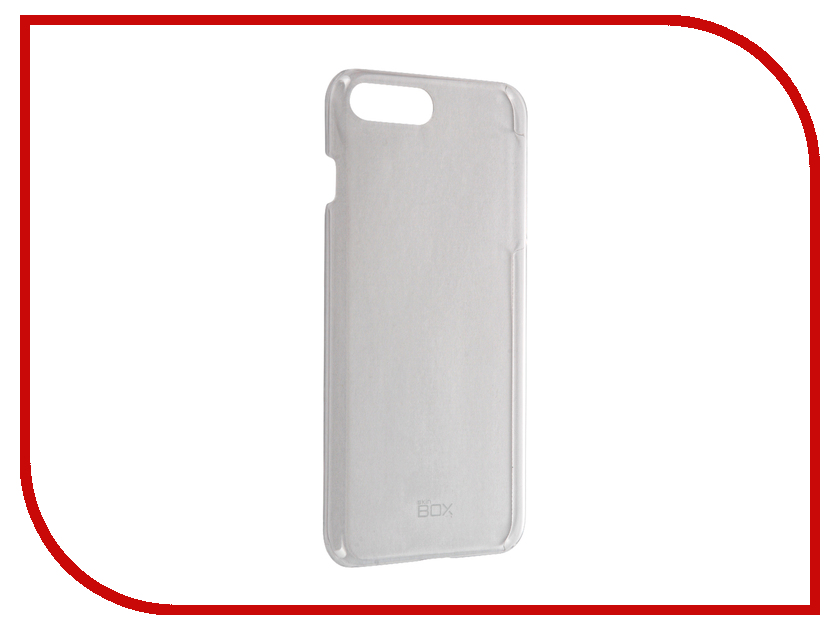 Аксессуар Чехол SkinBox 4People для iPhone 7 Plus Transparent T-S-AI7P-007<br>
