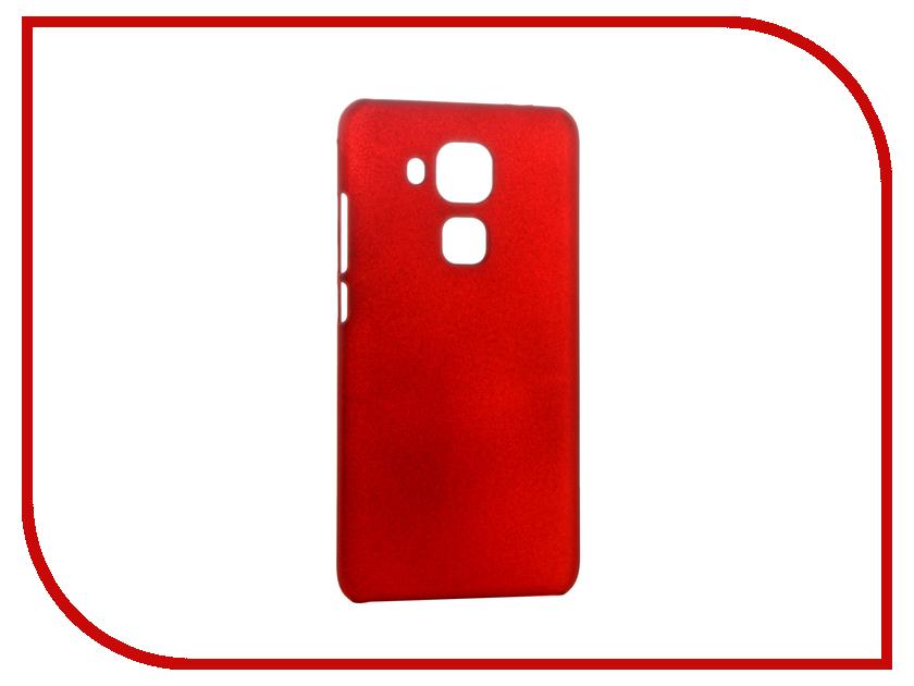 Аксессуар Чехол Huawei Nova Plus SkinBox Shield 4People Red T-S-HNP-002<br>