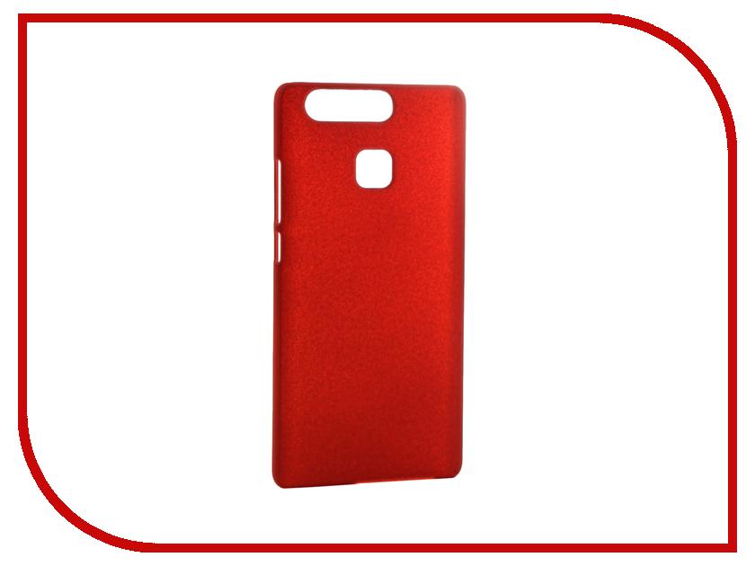 Аксессуар Чехол Huawei P9 SkinBox 4People Red T-S-HP9-002<br>