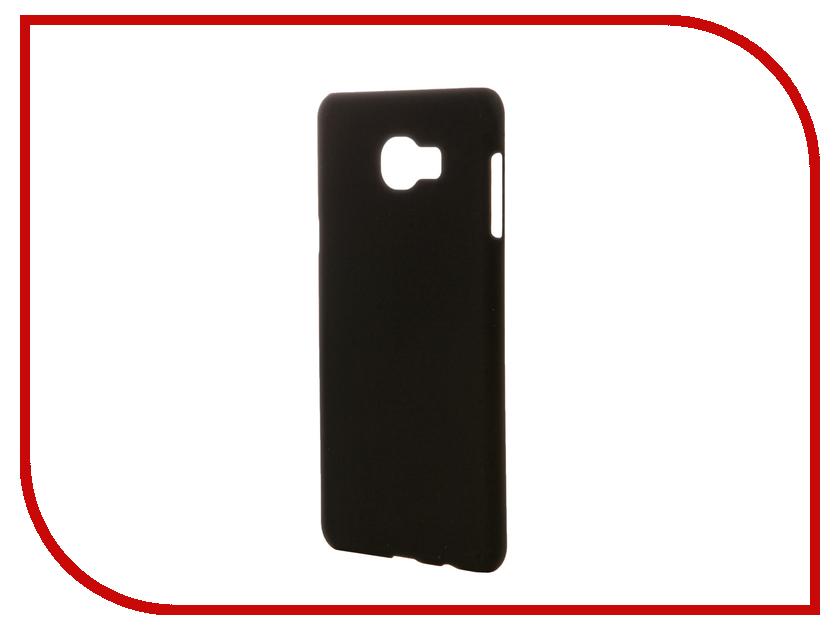 Аксессуар Чехол Samsung Galaxy C7 SkinBox 4People Black T-S-SGC7-002 skinbox crystal 4people чехол для samsung galaxy note 7 transparent