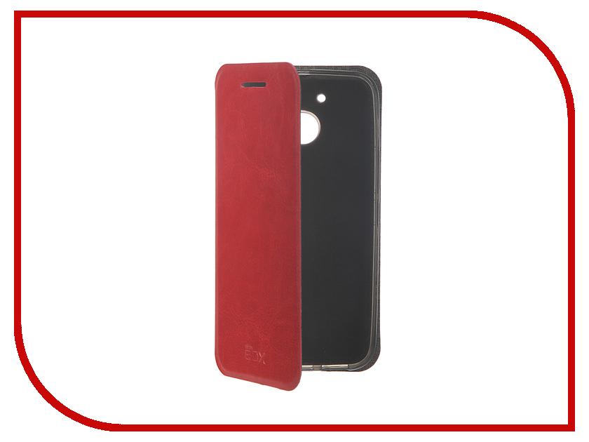 Аксессуар Чехол HTC 10 Lifestyle SkinBox Lux Red T-S-H10L-003<br>