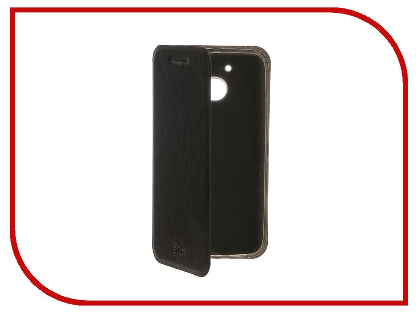 Аксессуар Чехол HTC 10 Lifestyle SkinBox Lux Black T-S-H10L-003<br>