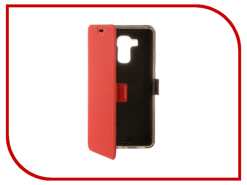 Аксессуар Чехол Huawei Honor 5C SkinBox Prime Book Red T-P-HH5C-05<br>