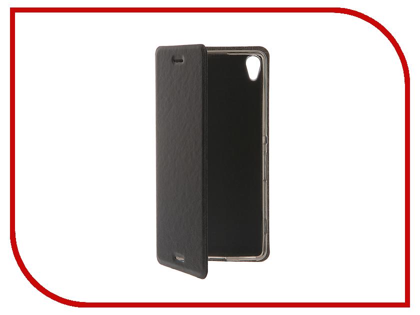 Аксессуар Чехол Sony Xperia XA SkinBox Lux Black T-S-SXXA-003<br>