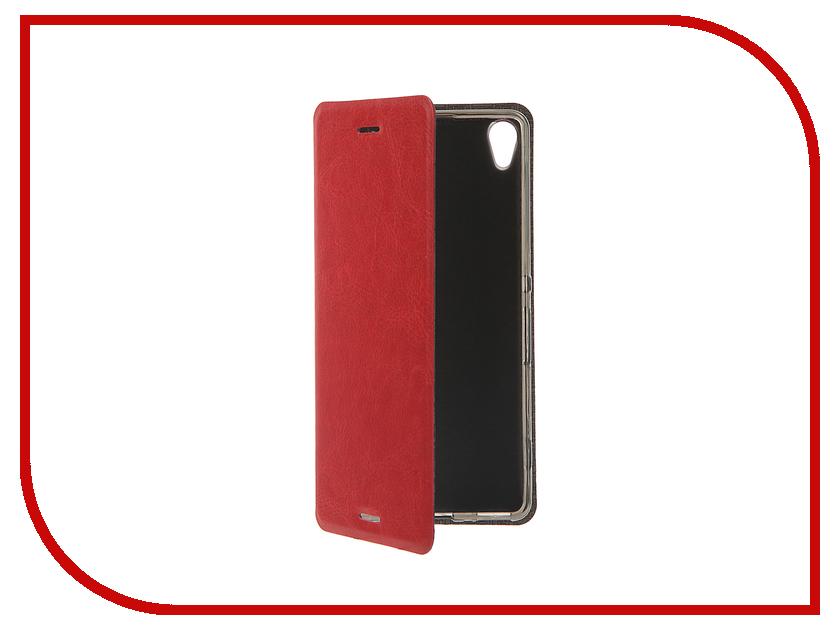 Аксессуар Чехол Sony Xperia XA SkinBox Lux Red T-S-SXXA-003<br>