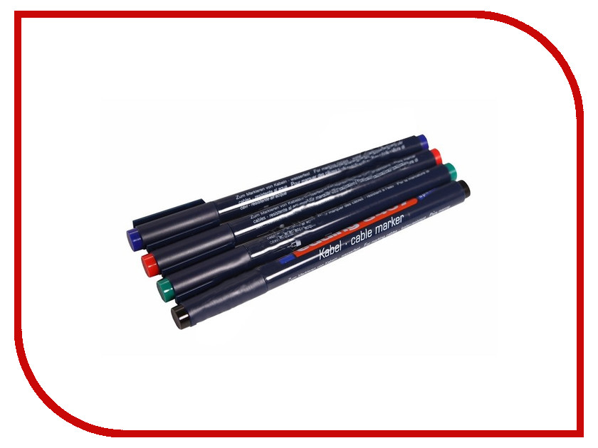 Аксессуар Rexant E-8407#4S набор маркеров 09-3997<br>