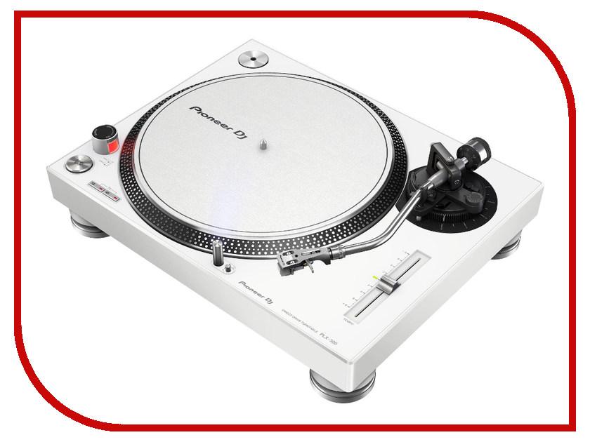 Проигрыватель виниловых дисков Pioneer PLX-500 White crosley проигрыватель виниловых дисков
