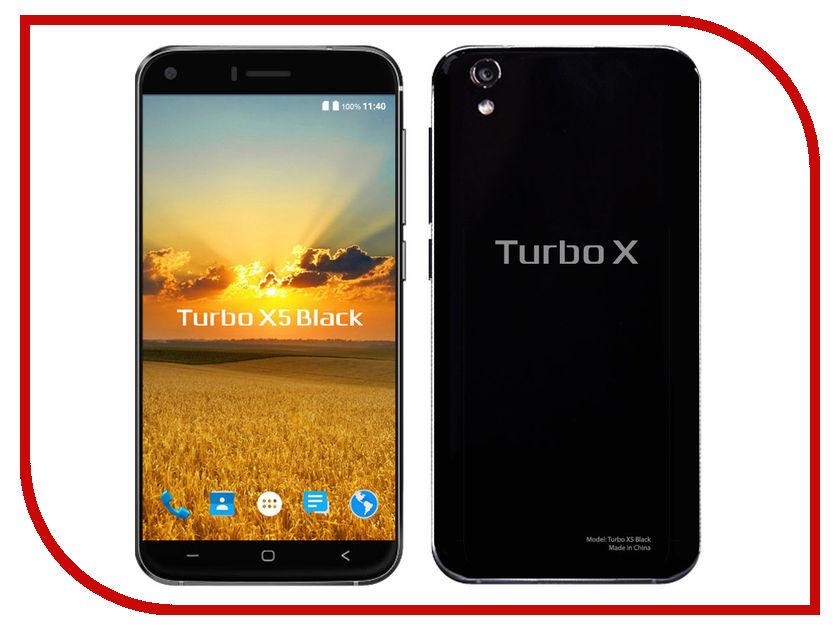 Сотовый телефон Turbo X5 Black сотовый телефон lexand a2 flip black