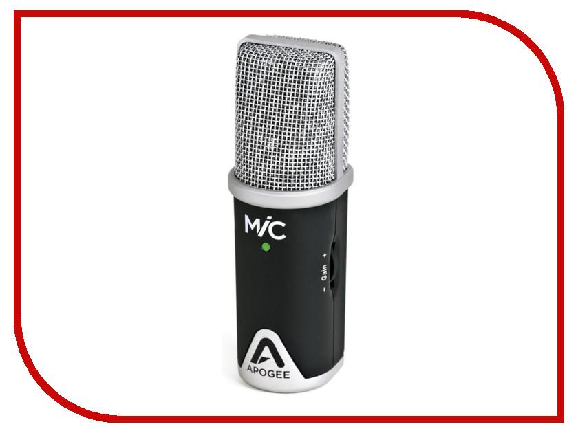 Микрофон Apogee MiC96K аудиоинтерфейс apogee one for ipad and mac