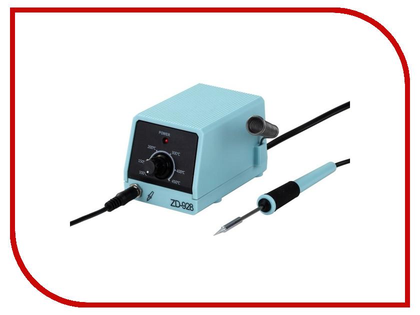 Паяльная станция Rexant 220V 8W ZD-928 12-0135 паяльная станция rexant zd 8906l 220v 40w 12 0150