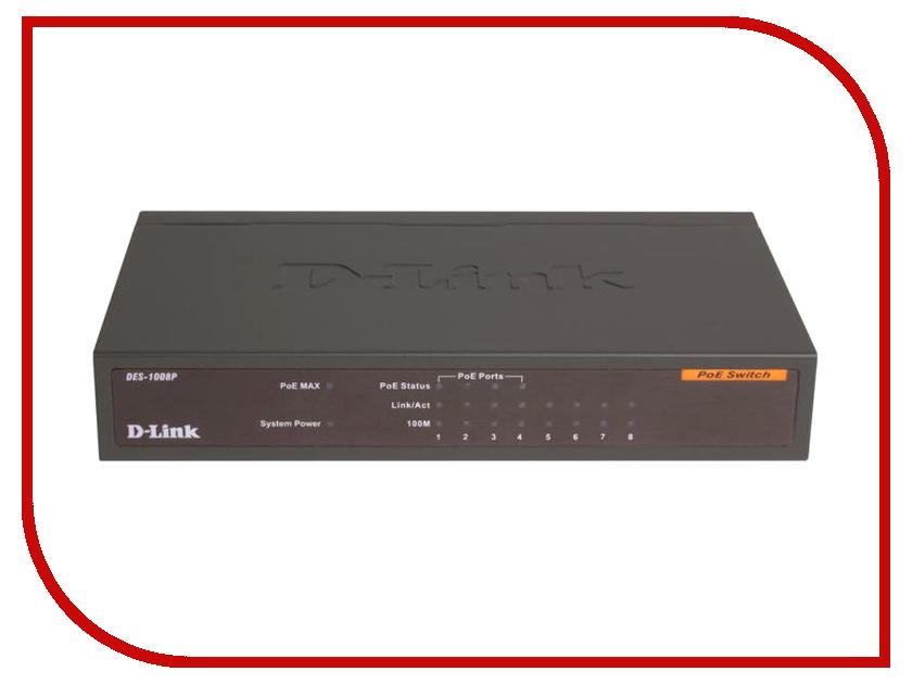 D-Link DES-1008P chagrin d ecole