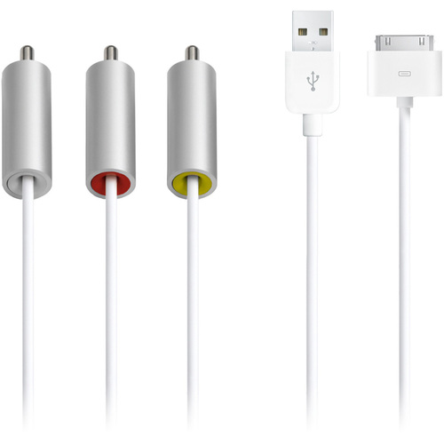 Аксессуар APPLE Audio-Video - Composite AV Cable ZML MC748ZM/A