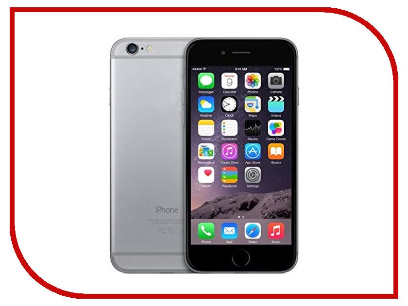 Сотовый телефон APPLE iPhone 6 - 16Gb Space Gray MG472RU/A стоимость