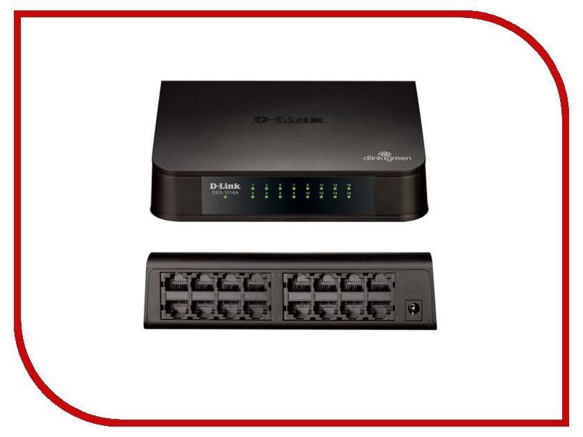 D-link DES-1016A коммутатор d link dgs 3120 48tc b1ari