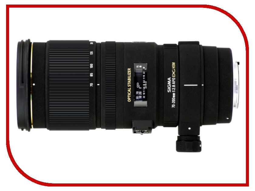 Объектив Sigma AF 70-200mm f/2.8 APO EX DG OS HSM Canon EF free shipping new and original for niko lens af s nikkor 70 200mm f 2 8g ed vr 70 200 protector ring unit 1c999 172
