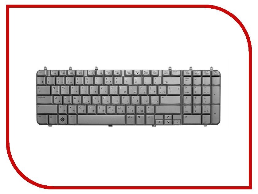 Клавиатура TopON TOP-69782 для HP Pavilion DV7-1000 / DV7-1100 / DV7-1200 Series Silver<br>