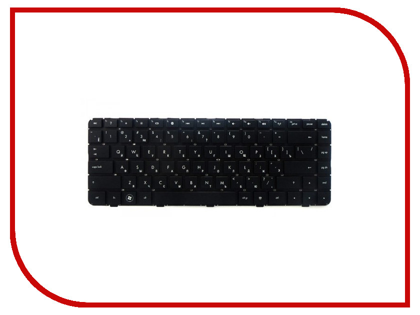 Клавиатура TopON TOP-100378 для HP Pavilion DM4-1000 / dv5-2000 / dv5-2100 Black laptop keyboard for hp pavilion dm4 dm4 1000 dm4 1100 dm4 2000 dv5 2000 dv5 2100 without frame black united states us 608222 001