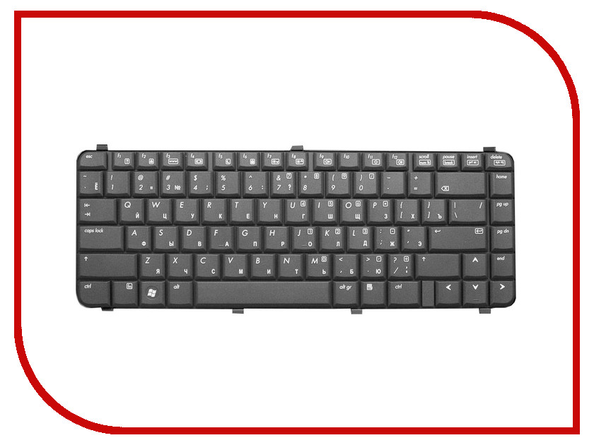Клавиатура TopON TOP-79781 для HP Compaq 511 / 515 / 516 / 610 / 615 / 6530s / 6531s / 6535s / 6730s / 6731s Series Black