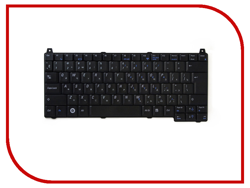 Клавиатура TopON TOP-100405 для DELL Vostro 1310 / 1320 / 1510 / 1520 / 2510 Series Black<br>