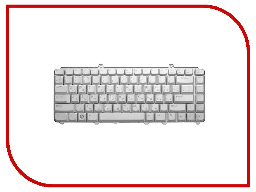 Клавиатура TopON TOP-67849 для DELL Inspiron 1318 / 1420 / 1520 / 1525 / Vostro 500 Series Silver<br>