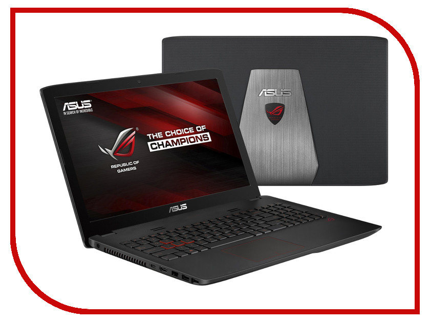 Ноутбук ASUS GL552VW-CN866T 90NB09I1-M10940 (Intel Core i5-6300HQ 2.3 GHz/8192Mb/1000Gb/DVD-RW/nVidia GeForce GTX 960M 2048Mb/Wi-Fi/Bluetooth/Cam/15.6/1920x1080/Windows 10 64-bit) цена